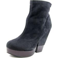BCBGeneration Kimba Women  Round Toe Suede Black Ankle Boot NWOB