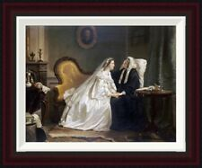 Some Good Advice by Hendrik Jacobus Scholten Framed Painting Print