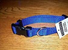 NEW Therapet Basic Nylon Adjustable Dog Collar Pet (Pick Size & Color)