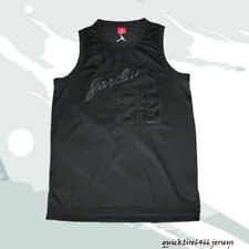 Michael Jordan Chicago Bulls #23 Basketball Jersey Black Jordan Men Size
