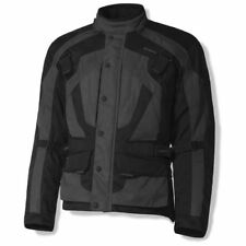 Olympia Richmond Mens Textile Motorcycle Jacket Grey