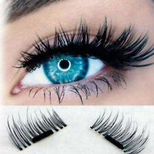 3D Magnetic False Eyelashes No Glue Handmade Natural Extension Eye Lashes