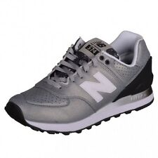 New Balance 574 Classic Runner Sneaker shiny silver Special WL574RAC