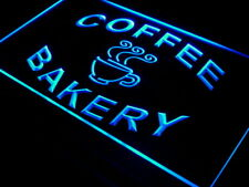 i497-b Bakery Coffee Shop Cup Display Neon Light Sign