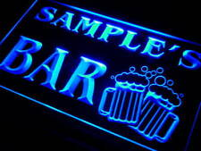 w-tm Name Personalized Custom Home Bar Beer Mugs Cheers Neon Sign