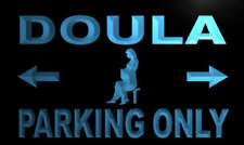 m284-b Doula Parking Only Neon Light Sign