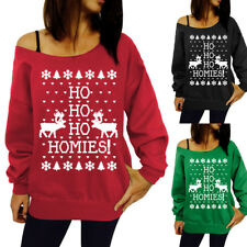 Women Casual Long Sleeve Crew Neck Floral Cotton Sweater Shirt Pullover Top