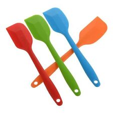 Cake Cream Butter Spatula Mixing Batter Scraper Brush Silicone Baking Tool Hot