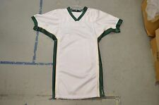 BLANK WHITE Dk Green Gold Sides Authentic Arena Fantasy Football League Jersey