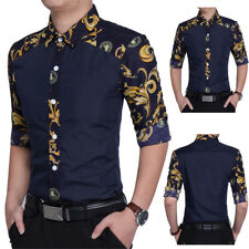 Hot Sale Men Casual Shirts Long Sleeve Slim Fit T-shirt Dress Shirts Basic Tees
