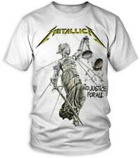 Metallica And Justice For All Album Cover Rock Metal Adult Mens T Shirt 50040120