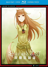New! Spice and Wolf Complete Series Blu-Ray + DVD  8-Disc Set Seasons 1 2 Slipco