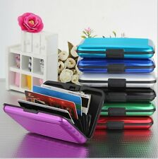 1Pcs Deluxe Aluma Case Wallet Credit Card Holder Protect RFID Scanning Metal