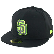 "New Era 5950 San Diego Padres ""Lunar Eclipse 2.0"" Fitted Hat (BK) Men's MLB Cap"