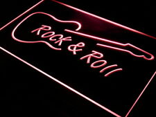 i303-r Rock and Roll Guitar Music NEW Neon Light Sign