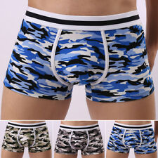 Sexy MEN Comfy hollow Camouflage Underwear Boxer shorts Underpants Boxer Brief