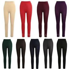 Women's Winter Thick Warm Fleece Thermal Stretchy Stirrup Leggings Pants A5N7