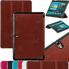 Slim Folding Flip Leather Stand Case Cover For iPad 6/5/4/3/2 Samsung Tab Note