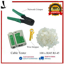 Durable RJ45 RJ11 cat5 Network Lan Cable Tester Ethernet Test Tool Kit Set SW