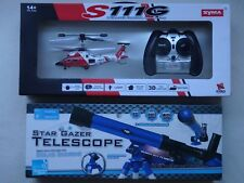 Radio Controlled Helicopter or Star Gazer Telescope (2 Designs)