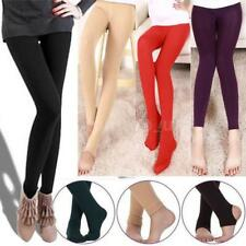 Women Winter Pantyhose Tights Thick Fashion Footless Stirrup Sock Stockings L7N7