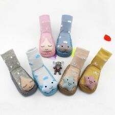 Cute Baby Kids Cartoon Shoes Toddler Anti-slip Socks Shoes Slipper Socks Boots