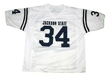 Walter Payton #34 Jackson State Men New Football Jersey White Any Size