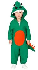 Baby Girls Boys Green Dinosaur Monster Fancy Dress Costume Outfit 6-24 months
