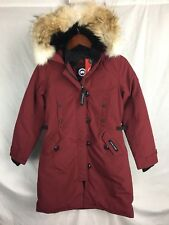 NEW CANADA GOOSE KENSINGTON PARKA GRAPE WOMENS 2506L DOWN COYOTE AUTHENTIC
