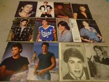 Rob Lowe teen magazine pinups clippings Lot Bop Tiger Beat Super Young