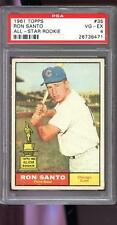1961 Topps #35 Ron Santo ROOKIE RC Chicago Cubs VG-EX PSA 4 Graded Baseball Card