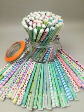 100 x Assorted Gel Ink Pens Clearance Wholesale Joblot School Office Supply