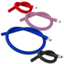 Silicone Hose Slippery Coated & Male Vacuum LeLuv O-Ring Fitting Non-Collapsable