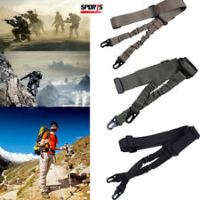 Adjustable 2 Point Tactical Rifle Sling Airsoft Paintball Hunting Gun Strap New