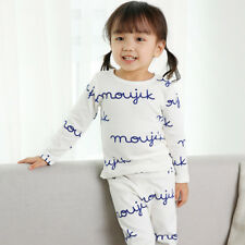 "Girls Long Clothes 12M-7T Vaenait ""G40 Style"" Kids Pajama Set Toddler Baby"