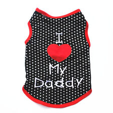 Apparel Clothing For Dog Sleeveless Vest T-Shirt Puppy Clothes Pet Dog