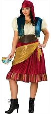 Gypsy Fortune Teller Women Costume Plus