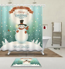 Lenox Winter Song Christmas Shower Curtain Ebay