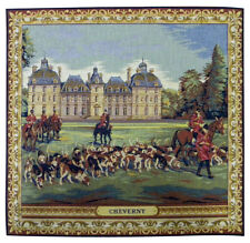 Cheverny French Tapestry Cushion Pillow Cover - 18 x 18 - NEW