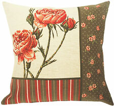 Bagatelle Floral French Tapestry Cushion Pillow Cover - 18 x 18 - NEW