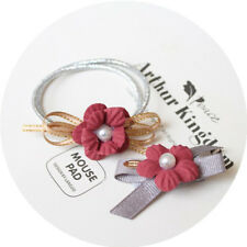 Hair Ring Ties Hair Accessories Flower Hair Rubber bands Rope Cloth Headbands