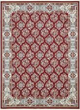 Astoria Grand Jackson Burgundy Area Rug