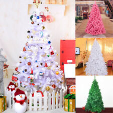 2.1m PVC Artificial Christmas Tree Bushy Xmas Party Holiday Decoration w/ Stand
