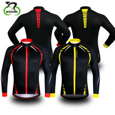 Thermal Fleece Cycling Jacket Unisex Winter Outdoor Sports Windproof Bike Coat