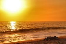 Digital Photo/Desktop Background/Wallpaper of Pt Mugu Beach California Sunset