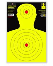 "Thompson CENTER-FIRE | Bright Life Size Human Silhouette Targets - 12.5""x19"""