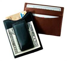 Top Grain Leather Wallet w Magnetic Money Clip [ID 392453]
