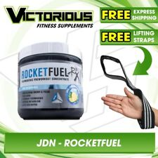 JD Nutraceuticals Rocket Fuel STRONG Thermogenic Pre Workout 40 Servings
