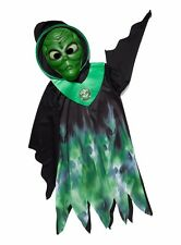 Green Alien Outfit Set With Mask Glow in The Dark