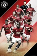 Manchester United FC Players 17-18 Poster 61 x 91.5cm